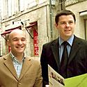 Photo  de photo : ubacto - Gilles Desvallois et Jean-François Billion, Commerce Rochelais