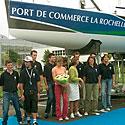 Photo  de photo : N.Riou pour ubacto - Le Baptême de Port de Commerce La Rochelle - Sup de Co voile