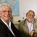 Photo  de photo : ubacto - James Coutant, Rotary de La Rochelle et Jean Munier, Marin'Escale, mai 2006