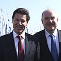 Photo  de © photo : ubacto - Les ministres Christian Estrosi et Dominique Busseeau, Grand pavois 2009