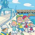 Photo  de © détail de l'affiche La Rochelle Port(es) Ouvert(es) juin 2011