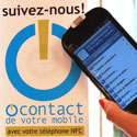 Photo  de © photo M.S - ocontact de votre mobile NFC septembre 2011