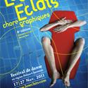 Photo  de © Zoom sur l'affiche 2011 des Éclats Chorégraphiques 17-27 novembre 2011