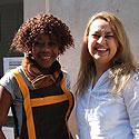 Photo  de © photo : L. Forges ubacto.com - Nicole et Kheira, PLanète sésame - La Rochelle 2012