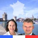 Photo  de © Législatives 2012, 2e tour : Ségolène Royal - Olivier Falorni, dimanche 17 juin 2012