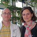 Photo  de © photo : L. Forges ubacto.com - Rodolphe Pouzet, Marion Autet, créateurs d'idée 2012