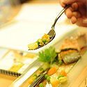 Photo  de © photo presse : Xavier Léoty pour les Journées aliments et santé 2012 - La Rochelle