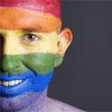 Photo  de © Ramonespelt - Fotolia  -  Les couleurs du drapeau gay
