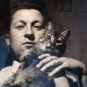 Photo  de © M. Jammet ubacto.com : prise de vue de l'Autoportrait au chat de Jean Gaillard