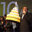 Photo  de ©  10e anniversaire du Festival de la fiction TV en 2008, archive ubacto