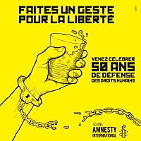 Photo  de Affiche Amnesty International 1961-2011 - 50 ans
