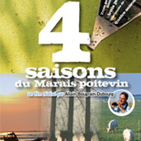 Photo  de   Zoom sur l'affiche du film : Les 4 saisons du Marais Poitevin