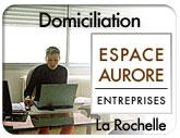 Vers Espace Aurore à La Rochelle :  domiciliation à La Rochelle