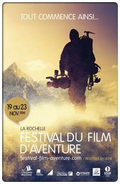 Festival du film d'aventure, du 19 au 23 novembre 2014...
