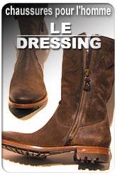 Vers le site : Le Dressing, chaussures pour hommes La Rochelle