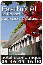 Fast'Hôtel La Rochelle :  FastHotel Hôtel économique à La Rochelle