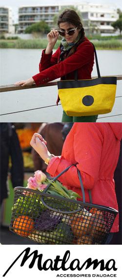 Matlama : sacs et accessoires